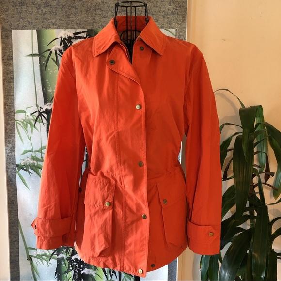 Burberry vintage trench coat Jacket orange